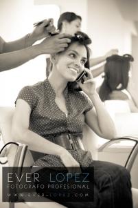 fotos arreglo novia peinado maquillaje salon de belleza novias fotografia fotografias previo a la boda
