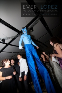 animacion zancos bodas avatar gigante boda guadalajara fotografia por ever lopez