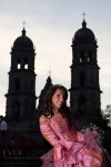 portada revista xv años fotografo moda ever lopez guadalajara jalisco mexico zapopan catedral zapopan santuario iglesia chava 15 vestido rosa princesa