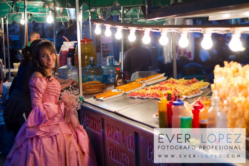 fotos originales ever lopez fotografo profesional guadalajara jalisco mexico tacos puesto zapopan basilica virgen vestido rosa quince xv años 15 quinceañera