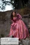 fotografia de quinceañera en parque colomos guadalajara zapopan jalisco por ever lopez fotografo profesional atardecer 15 años xv fiesta vestido