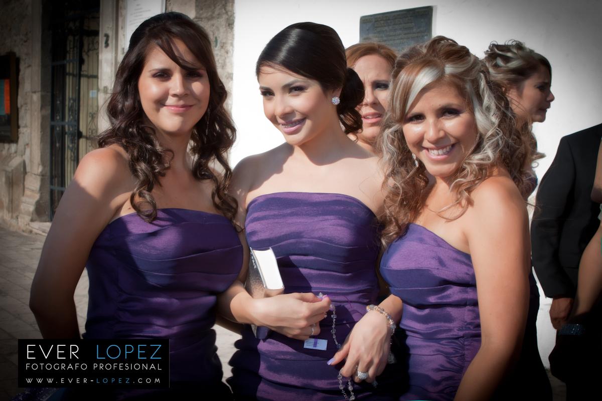 Diseños De Vestidos Para Damas Honor Bodas Mexico Guadalajara