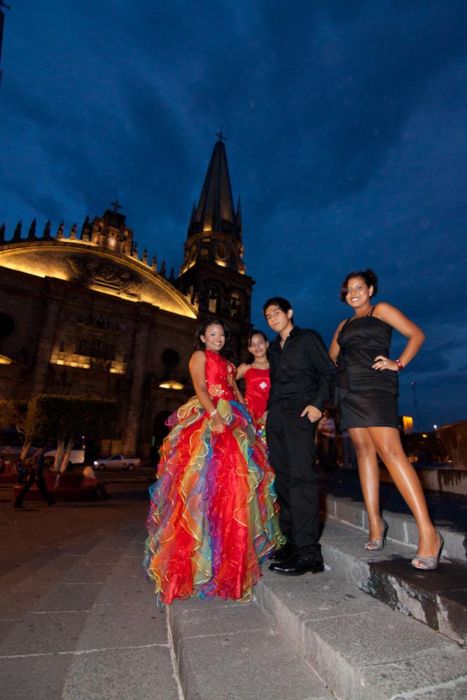 Fotografia de quinceañera XV años en Guadalajara Jalisco Mexico