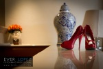 mexican destination wedding photographer bride shoes bouquet flowers church best photography for weddings in mexico