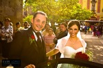 fotos templo aranzazu guadalajara jalisco salida de la boda carro novia novios traje ramo de flores