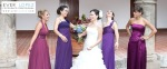 damas de honor madrinas vestidos fotos boda novios