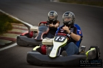 bride groom kart racing esession pictures creative wedding photographer mexican mexico