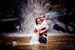 fotografos de bodas guadalajara jalisco trash the dress rio cascada vestido novia