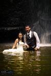 locaciones exteriores rio cascada agua guadalajara jalisco barranca fotos bodas novios creativas