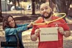 fotos de novios en el parque previo a su boda en hacienda santa cruz zapopan jalisco mexico
