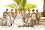 fotos boda playa de iguanas tenacatita jalisco mexico blue bay
