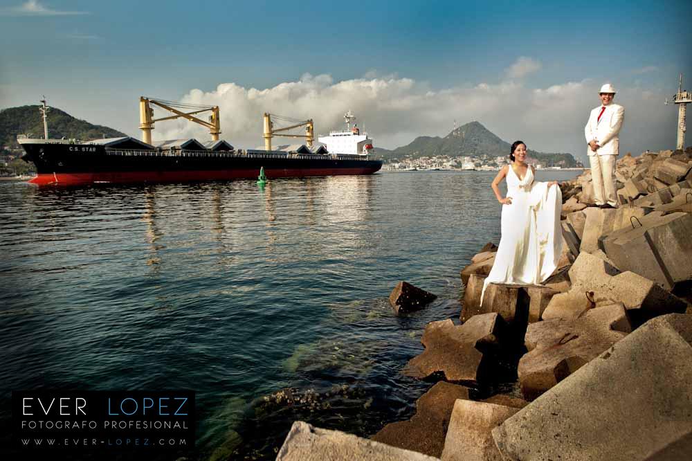 Boda Hotel Luna del Mar, Manzanillo Colima, Berzy +Erik