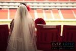 fotografo profesional de bodas en mexico, fotos boda novios estadio omnilife guadalajara chivas ever lopez