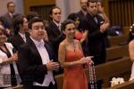 fotos boda templo jose maria escriva de balaguer zapopan jalisco mexico av acueducto novios fotos templo iglesia fotos damas honor vestidos rojos
