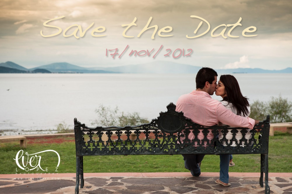 Save the Date, Boda Mariana y Leo Guadalajara Jalisco, La florida salon terraza de eventos