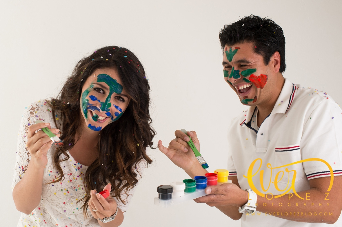 fotos pre boda estudio fotografo Ever Lopez Ameca Jalisco fotografias de boda globos pinturas creativas