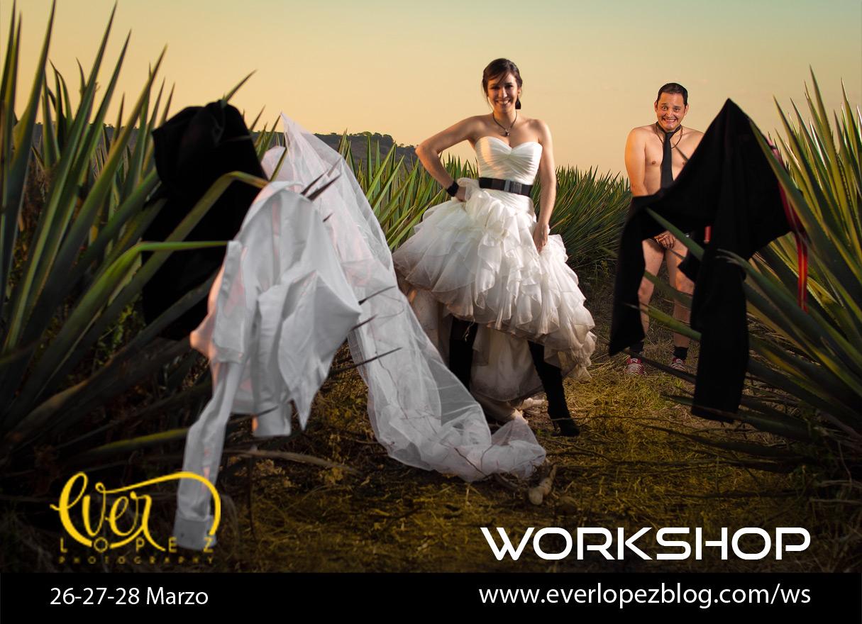 workshop practico de fotografia para fotografos de bodas en mexico Ever Lopez