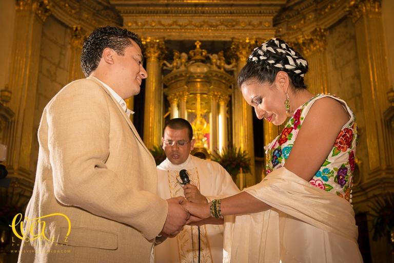 fotografo de bodas basilica de zapopan jalisco mexico