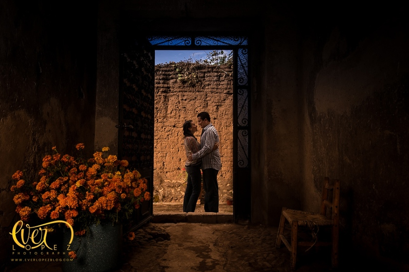 Sesion de fotos casuales pre boda, fotografo Ever Lopez