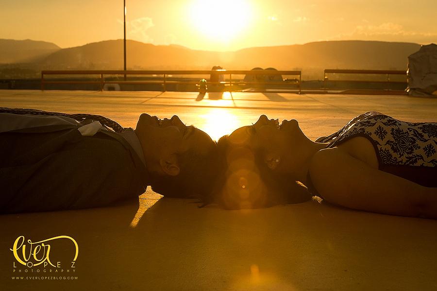 Videoclip sesión casual de fotos en helipuerto Guadalajara, Jalisco, Mexico, Itzel yGerman
