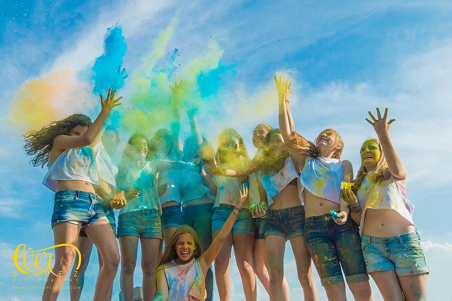 fotos quince 15 años xv quinceañeras polvos de colores guadalajara jalisco mexico