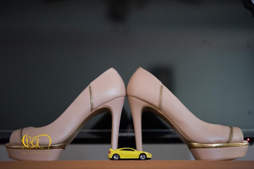 Fotografo profesional de bodas ameca jalisco mexico zapatos de la novia tacones