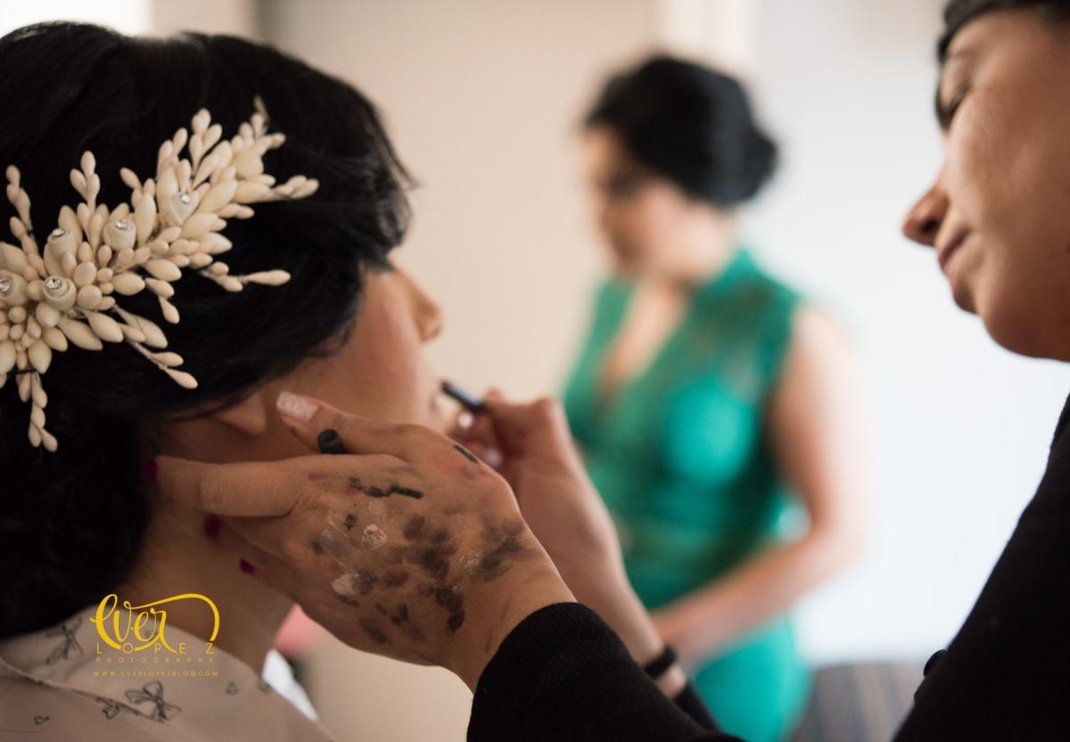 Arreglo, maquillaje y peinado de la novia en Ameca, Jalisco,Mexico