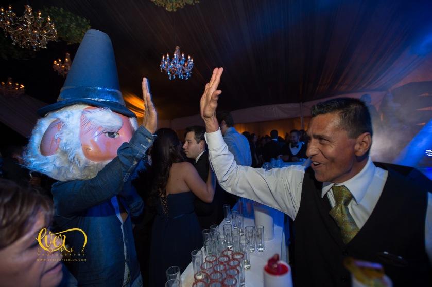 Jaime Duende disfraz renta para fiestas bodas live entertainment Guadalajara boda trasloma