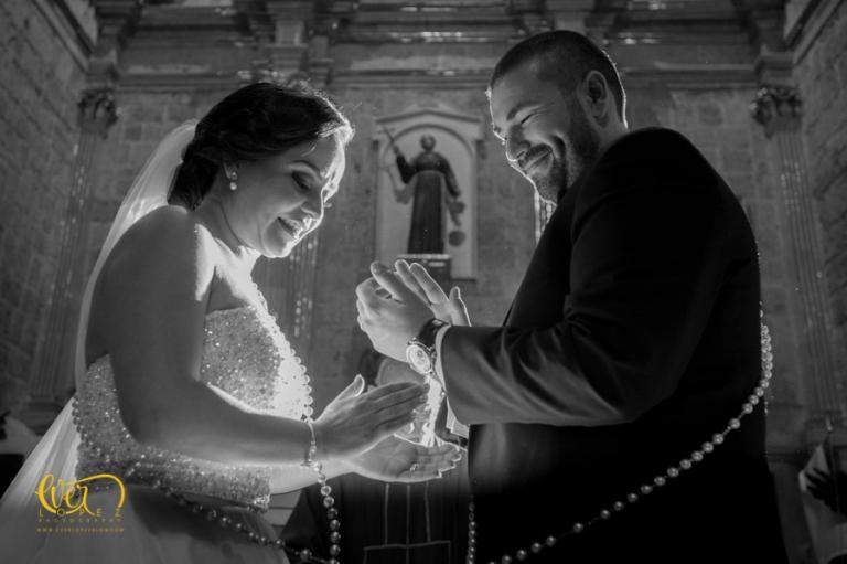 Fotos de boda templo San Diego de Alcala, Guadalajara, Jalisco, Mexico