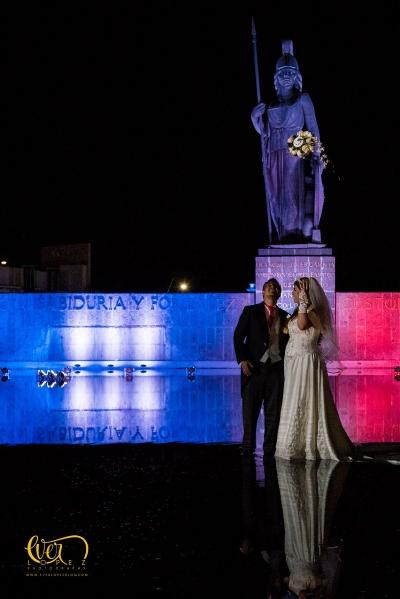 fotos de boda en la minerva de Guadalajara