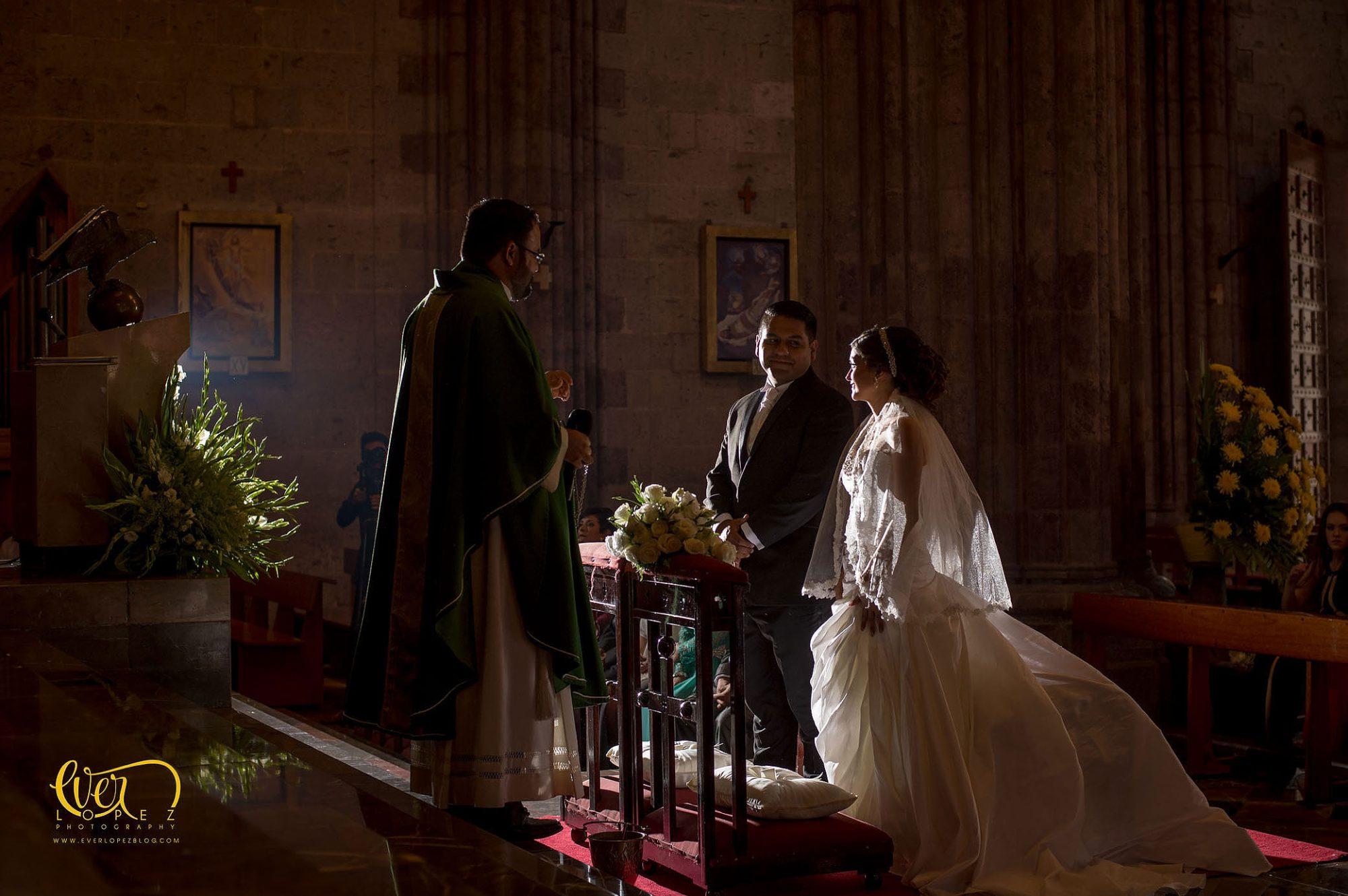 Templo expiatorio bodas