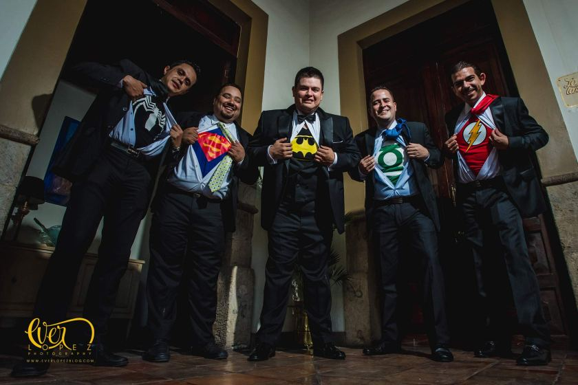 fotos con playeras super heroes