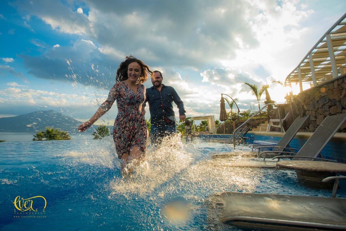 Pre boda Monte Coxala, lago de Chapala, Jalisco, Mexico fotoscasuales