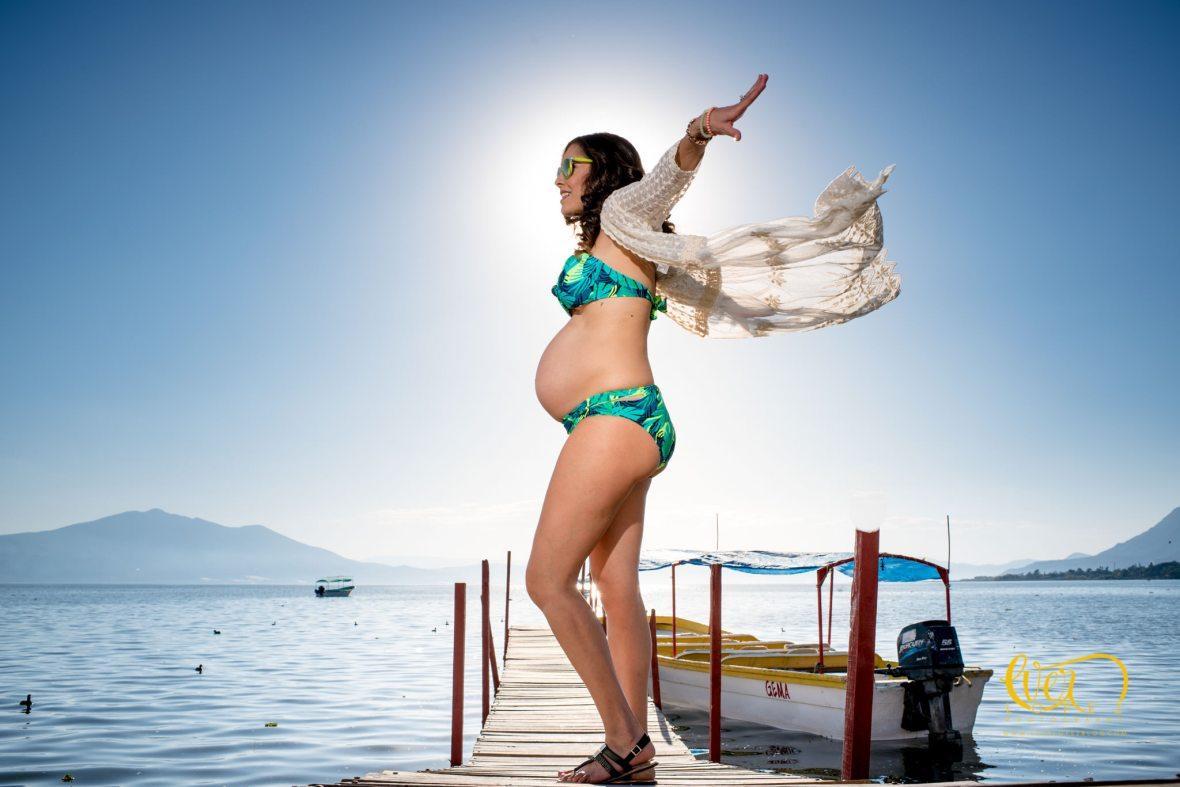 Estudio fotografico para embarazadas en Guadalajara
