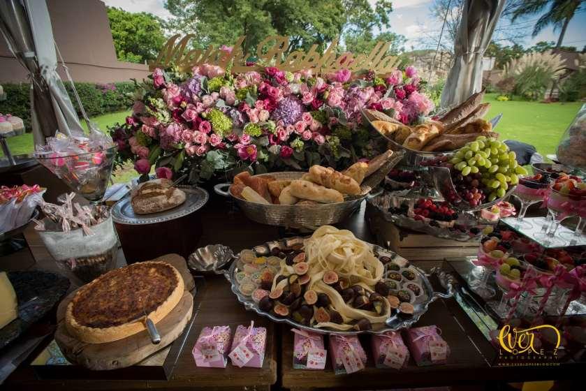 Barras de quesos y carnes para eventos